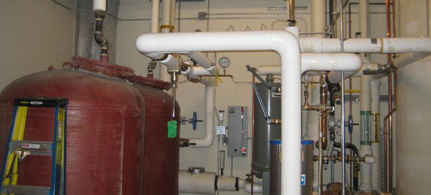 RiverCentre Solar Thermal System
